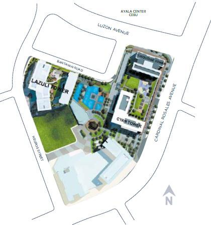 Solinea Cebu Site Development Plan