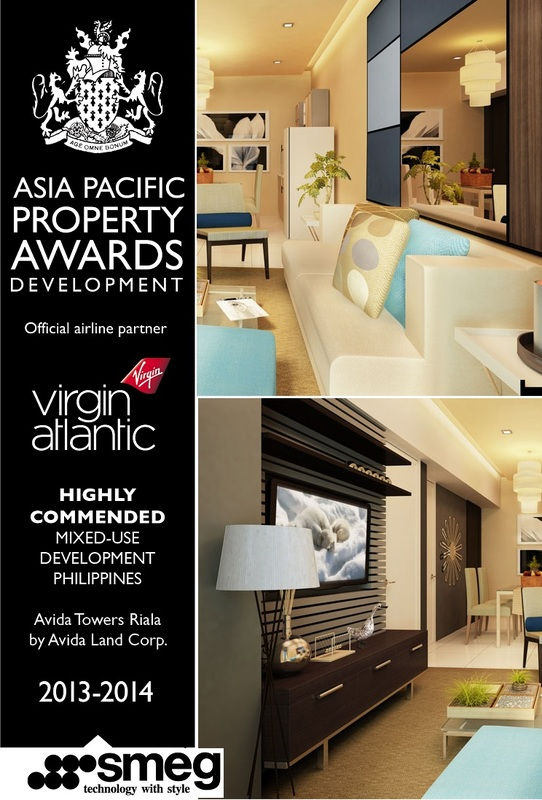 Asia Pacific Property Awards for Avida Towers Riala Cebu - Highly Commended Mixed-use Development in the Philippines